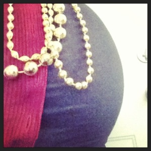 39 weeks and hitting up the mardi gras parades :)